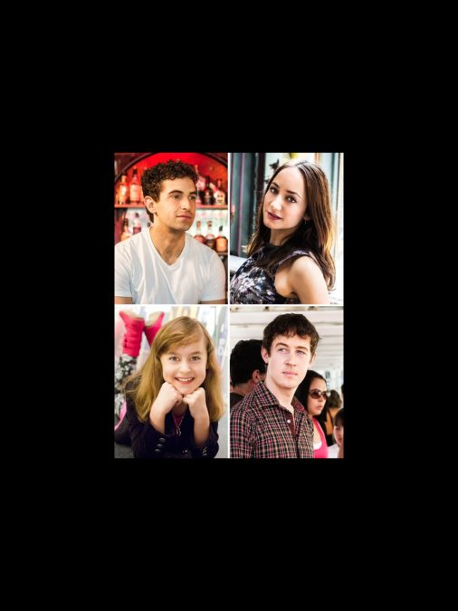 Fresh Face - Tony Nominees - wide - 6/15 - Sydney Lucas - Alex Sharp - Lydia Leonard - Brandon Uranowitz