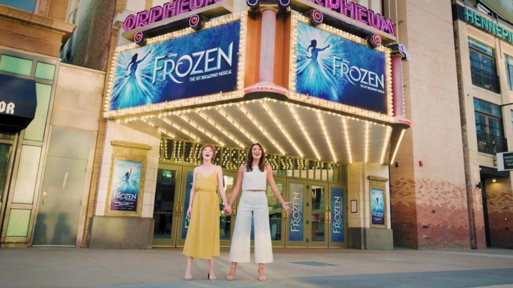WI - Caroline Innerbichler - Caroline Bowman - 10/21 - Frozen International Return 'Let It Go' Performance