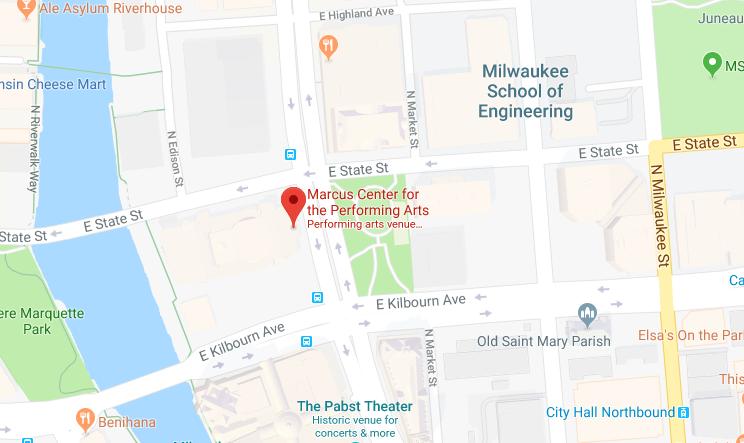 Marcus Center location