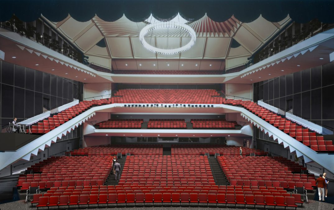 Uihlein Hall Reimagined (℅ Marcus Performing Arts Center)